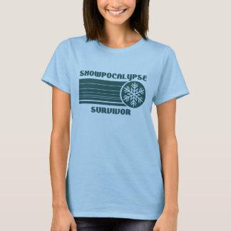 Camiseta T-shirt do sobrevivente de Snowpocalypse