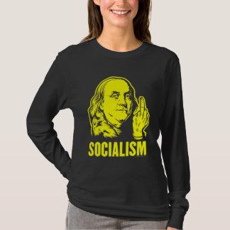 Camiseta T-shirt do socialismo de Ben Franklin F
