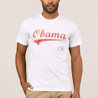 Camiseta T-shirt do softball de Obama