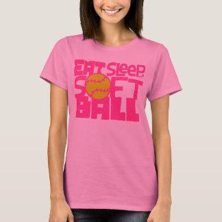 """Camiseta T-shirt do SOFTBALL do original de TEEMATES """"COMA,"""