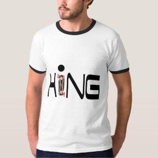 Camiseta t-shirt do solitário do rei