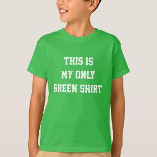 Camiseta T-shirt do St. Patricks da juventude