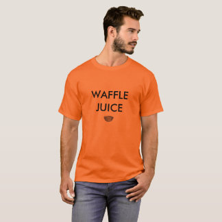 Camiseta T-shirt do suco do Waffle
