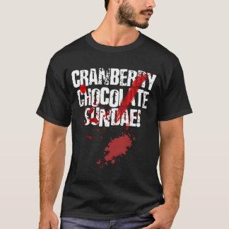 Camiseta T-shirt do Sundae do chocolate do arando de NMH