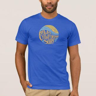 Camiseta T-shirt do SURF do BAJA CALIFORNIA dos homens