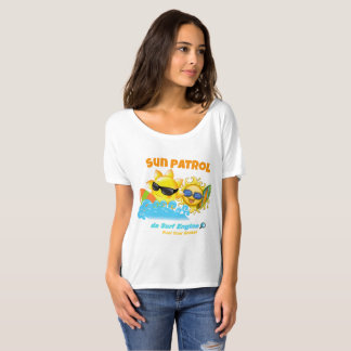 Camiseta T-shirt do surfista da patrulha de Sun