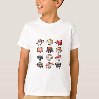 Camiseta T-shirt do sushi: Sushi bonito & temperamental