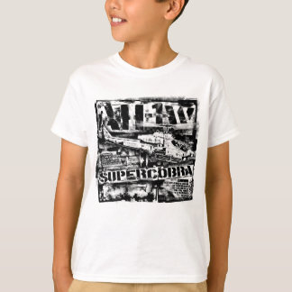 Camiseta T-shirt do t-shirt de AH-1 SuperCobra