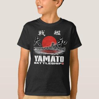Camiseta T-shirt do t-shirt de Yamato da navio de guerra