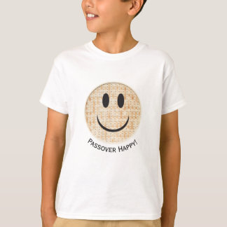 "Camiseta ""T-shirt do Tagless do menino de Emoji feliz"" do"