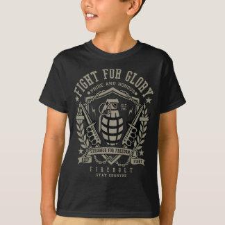 Camiseta T-shirt do TAGLESS® dos miúdos da granada