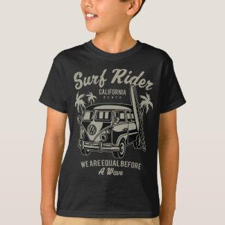 Camiseta T-shirt do TAGLESS® dos miúdos do cavaleiro do