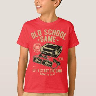 Camiseta T-shirt do TAGLESS® dos miúdos do jogo da velha