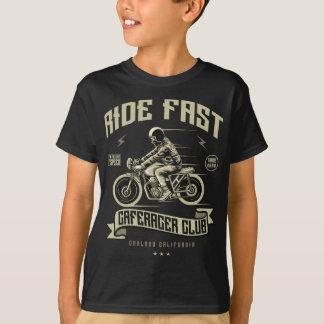 Camiseta T-shirt do TAGLESS® dos miúdos rápidos do passeio