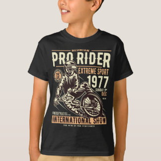 Camiseta T-shirt do TAGLESS® dos pro miúdos do cavaleiro