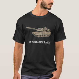 Camiseta T-shirt do tanque de M1 Abrams