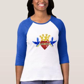 """Camiseta """"T-shirt do tatuagem do amor verdadeiro"""""""