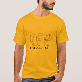 Camiseta T-shirt do TD do caráter de KFP (cor clara)
