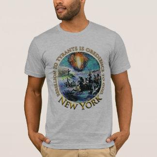 Camiseta T-shirt do tea party de New York