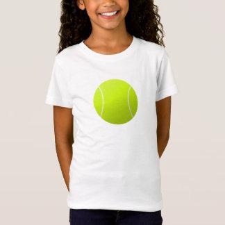 Camiseta T-shirt do tênis das meninas