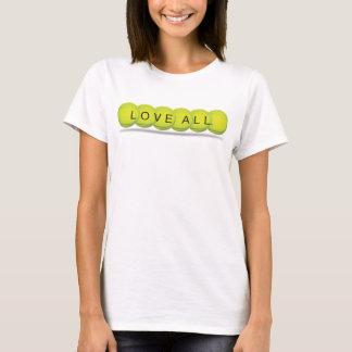 Camiseta T-shirt do tênis das mulheres