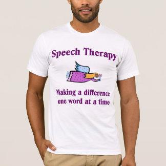 Camiseta T-shirt do terapeuta de discurso