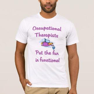 Camiseta T-shirt do terapeuta ocupacional