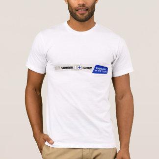 Camiseta T-shirt do teste de gravidez do Squirm & do germe