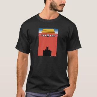 Camiseta T-shirt do Tiananmen do caranguejo louco