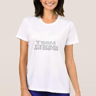 Camiseta T-shirt do titânio da equipe