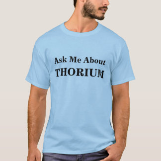 Camiseta T-shirt do tório