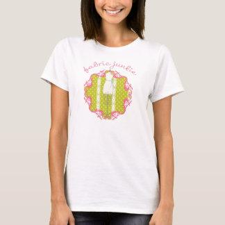 Camiseta T-shirt do toxicómano do tecido