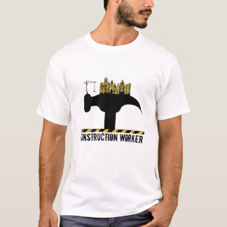 Camiseta T-shirt do trabalhador da construção