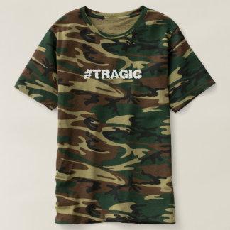 CAMISETA T-SHIRT DO #TRAGIC CAMO
