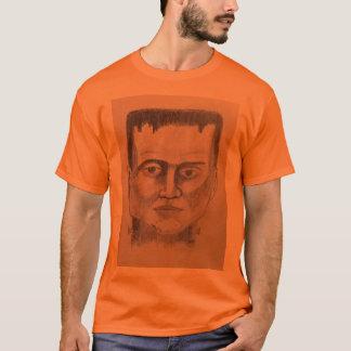 Camiseta T-shirt do traje de Frankenstein o Dia das Bruxas