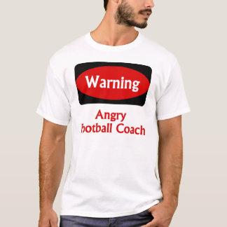 Camiseta T-shirt do treinador de futebol