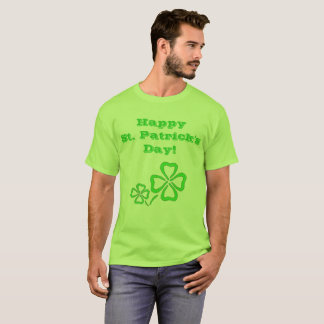 Camiseta T-shirt do trevo do dia de St Patrick