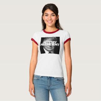 Camiseta T-shirt do trunfo das mulheres anti
