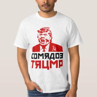 """Camiseta T-shirt do trunfo dos homens: """"CAMARADA TRUNFO """""""