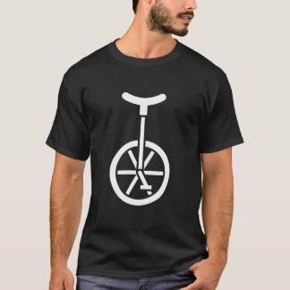 Camiseta T-shirt do Unicycle das caras - anfitrião do circo