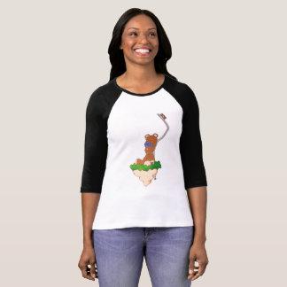 Camiseta T-shirt do ursinho do paragem do autocarro
