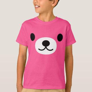 Camiseta T-shirt do urso de ursinho do miúdo
