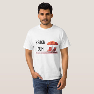 Camiseta T-shirt do vagabundo da praia