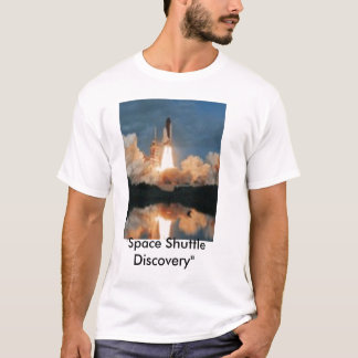 Camiseta T-shirt do vaivém espacial