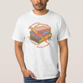 Camiseta T-shirt do valor da divisa do professor Substitute