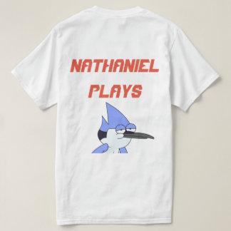 Camiseta T-shirt do valor da mercadoria dos jogos de