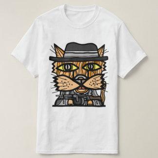 """Camiseta T-shirt do valor do """"gângster"""""""