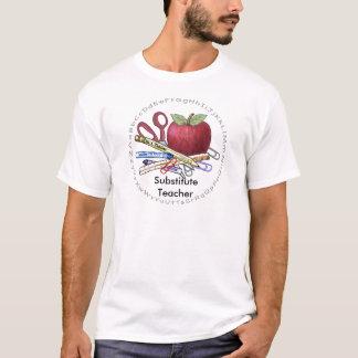 Camiseta T-shirt do valor do professor Substitute