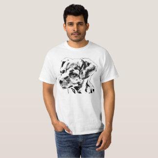 """Camiseta T-shirt do valor dos homens da """"chihuahua"""""""