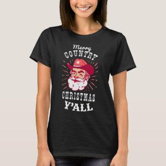 Camiseta T-shirt do vaqueiro do Natal
